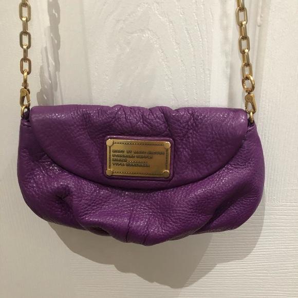 Marc Jacobs Karli Q crossbody mini bag purple